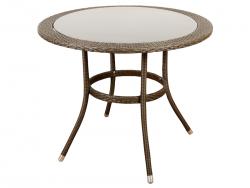 Stół ogrodowy okrągły